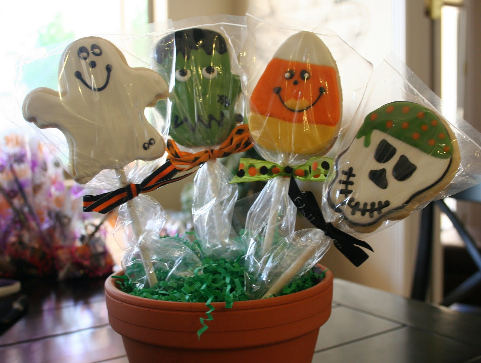 Fresh Cut Flours: Halloween Cookies on a Stick and my next ABC ...