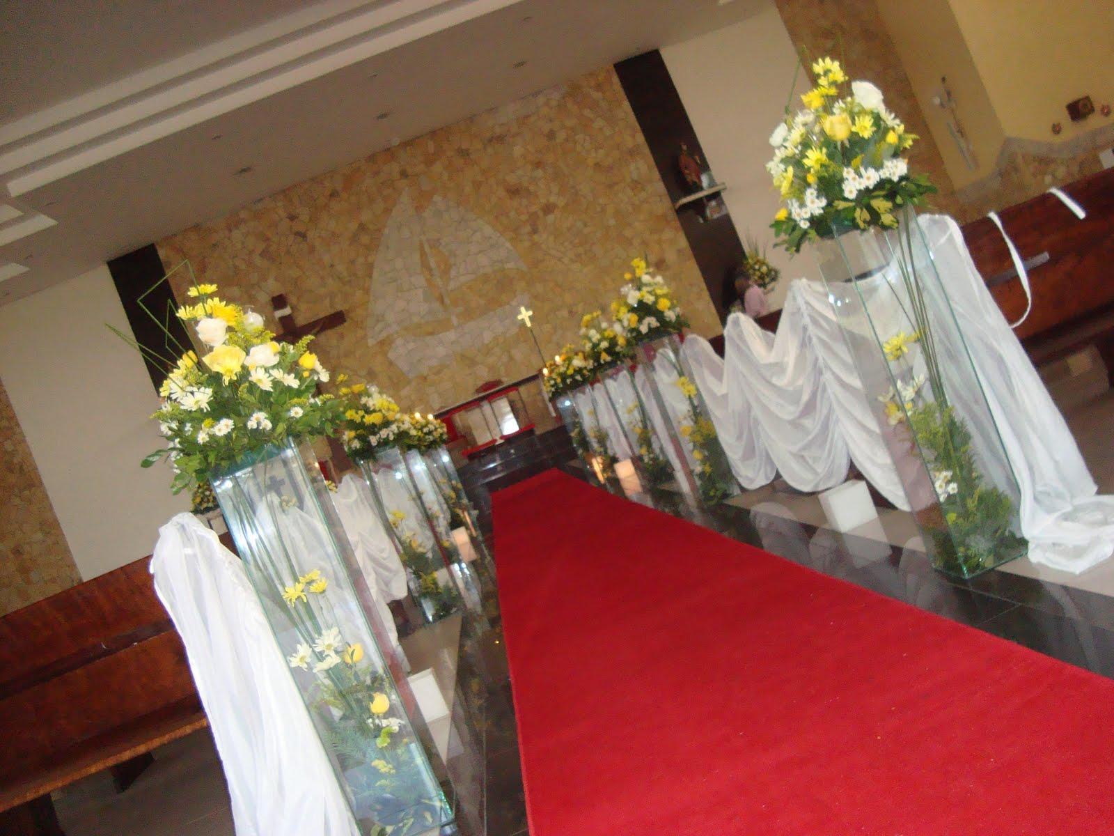 decoracao de casamento na igreja azul e amarelo:decoração de igreja decoração de igreja decoração de igreja