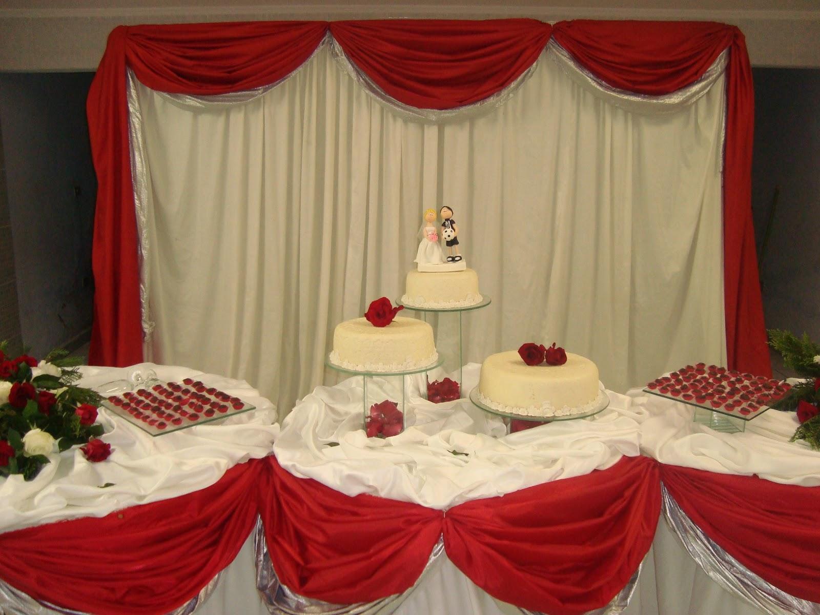 ... de Casamento Vermelho e Dourado e inspire-se # decoracao casamento