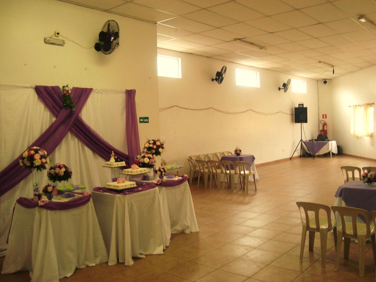 Quero + festa!Cartão Até 10x  Decoração de Casamento Lilás!
