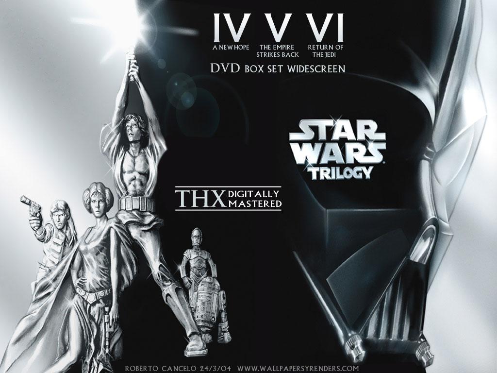 Starwars episodio iv, v, vi