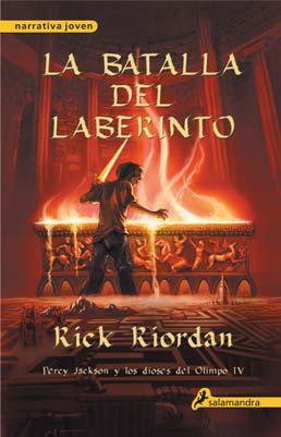 Percy Jackson: La batalla del laberinto - Rick Riordan Libro_1259421073