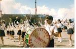 desfile da fanfarra