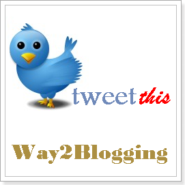 How To Add Tweet this (Twitter) button to Each Blogger Post