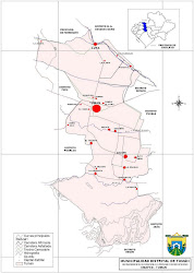 Mapa Tuman