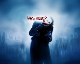 Joker Writing on Glass HD Wallpaper