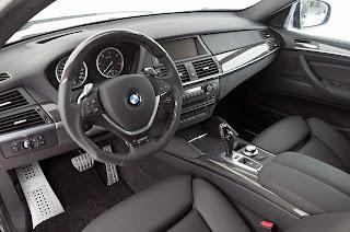 BMW X6 Cockpit HD Wallpaper