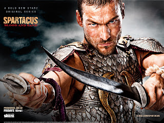 Andy Whitfield Spartacus Blood and Sand HD Wallpaper