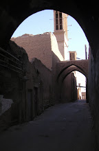 Yazd, badgirs (10th century air conditioning towers) in the old city.