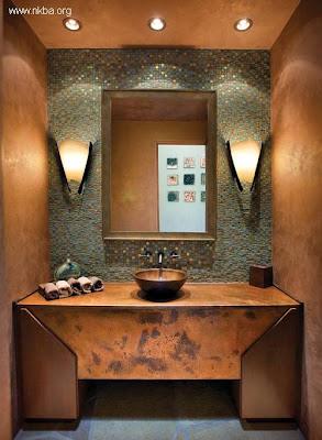 Baño decoracion lujosa