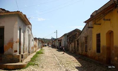 Casas viejas en Cuba