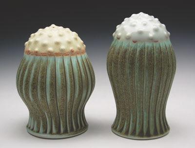 Piezas de ceramica creativa