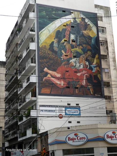 Mural de artista plástico argentino