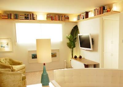 Living estantes