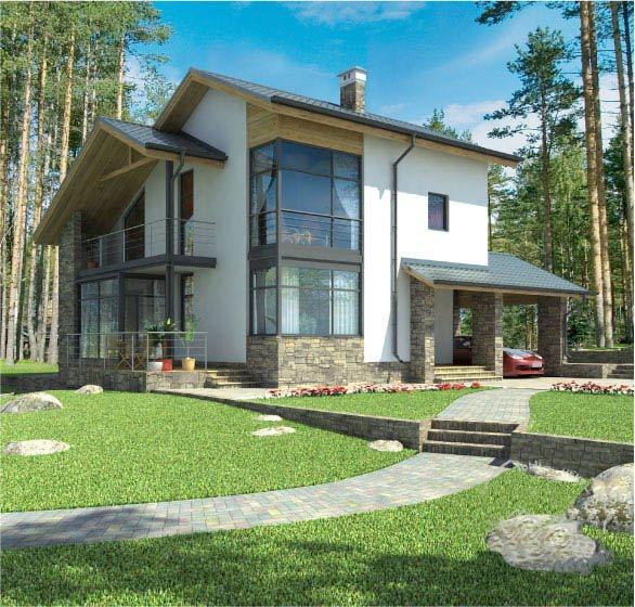 Arquitectura de casas fotograf as de casas prefabricadas for Casas de campo prefabricadas