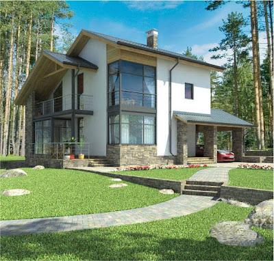 Casa prefabricada 2 plantas