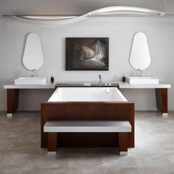 Arquitectura de casas mobiliario de ba o original for Mobiliario para banos