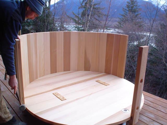 Armado de la madera de madera