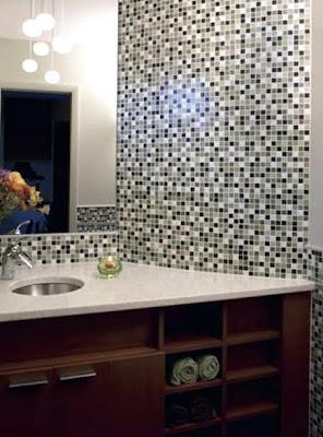 Decoracion baño con azulejos