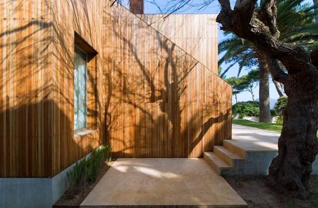 Sector de una residencia contemporánea Minimalista en Puerto Pollensa