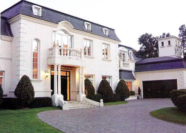 Arquitectura de casas fachadas cl sicas argentina - Fachadas de casas clasicas ...