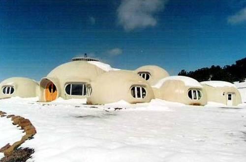 Casa tipo iglú