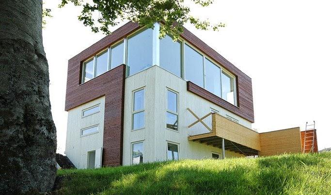Arquitectura de casas casa en noruega for Casas en noruega