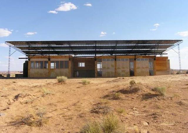 Casa ecológica, bioclimática y autosustentable