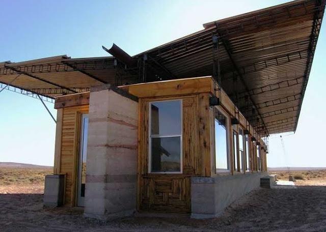 Casa Desierto Sam La De Papel