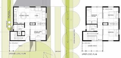 Arquitectura de casas casa econ mica de d lares en for Planos de casas norteamericanas