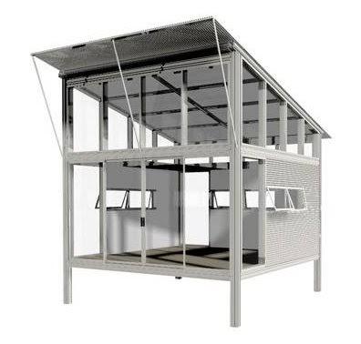 Arquitectura de casas m dulos para hacer viviendas kit haus - Precio estructura casa ...