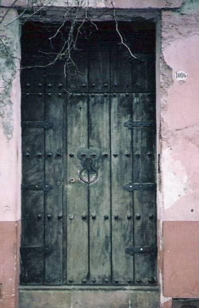 arquitectura de casas puertas antiguas de buenos aires