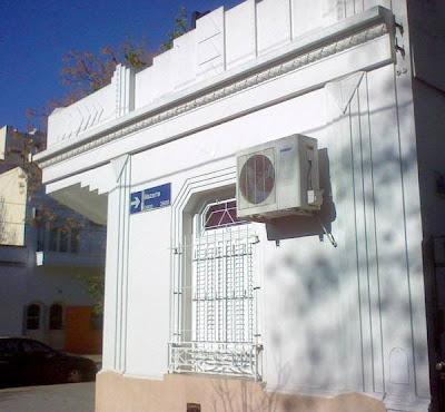 Casa restaurada estilo Art Deco