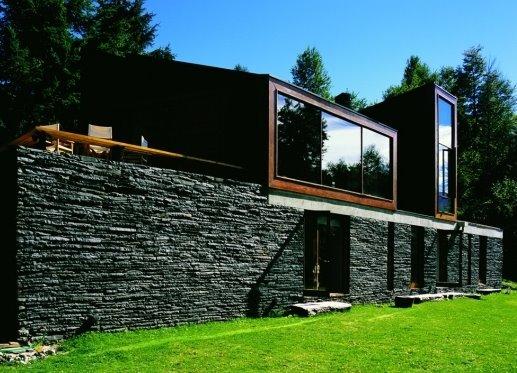 Casa diseñada por Alejandro Aravena en el sur de Chile