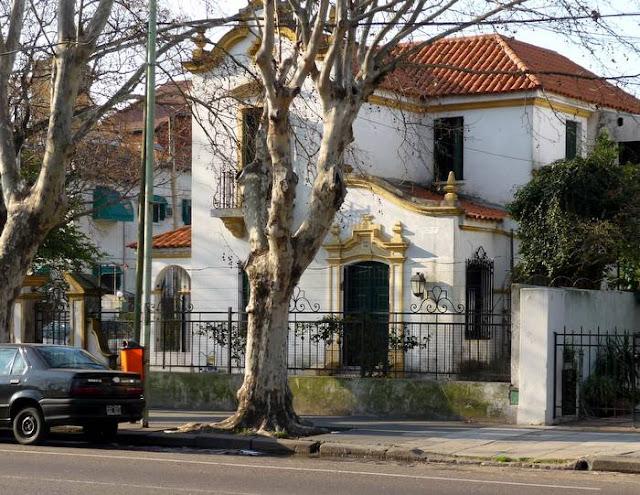 Casa estilo Colonial español en Villa Devoto Buenos Aires