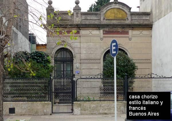 Arquitectura de casas casa chorizo con fachada art for Casa jardin buenos aires