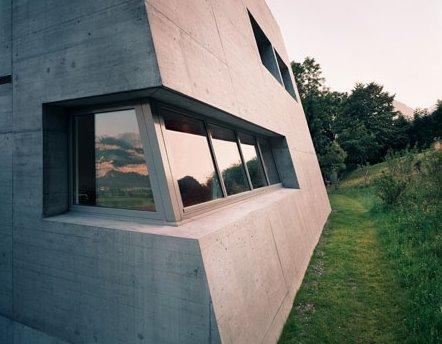 Arquitectura suiza contemporánea, casa Minimalista