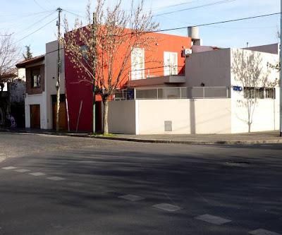 Casa residencial pintada