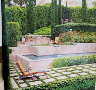 Pequeño jardín de diseño