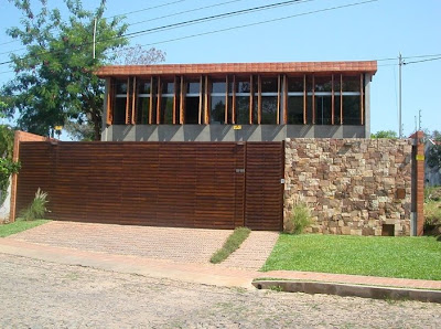 Casa de familia paraguaya