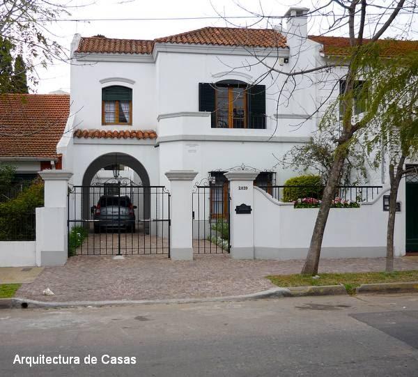 Arquitectura de casas casa de estilo colonial espa ol for Estilos de casas arquitectura