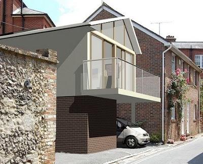 Casa pequeña económica de bajo costo en Reino Unido
