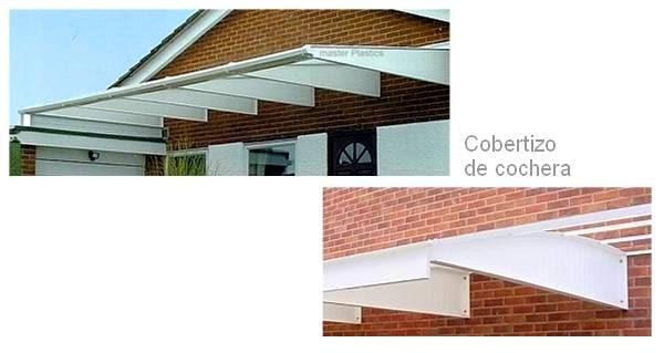 Arquitectura de casas techos inclinados cobertizos para for Cocheras minimalistas