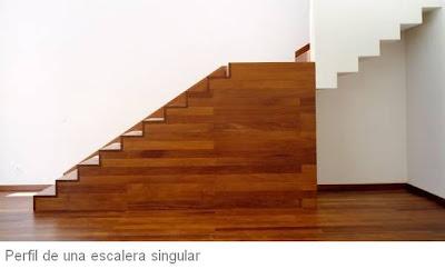 Arquitectura de casas octubre 2008 for Escalera electricista madera