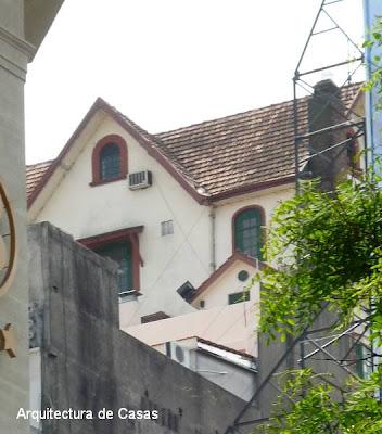 Chalet sobre edificio