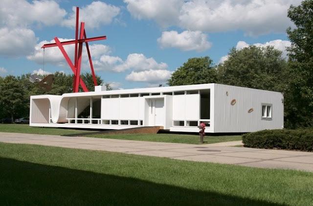 Casa prefabricada vanguardista en Estados Unidos