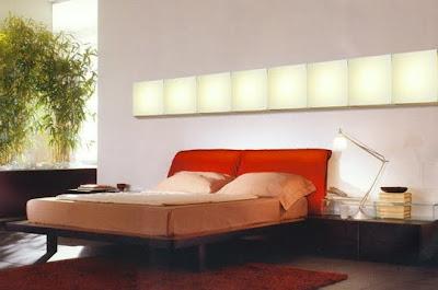 Luz difusa para dormitorio