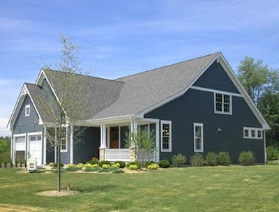 Casa americana completa
