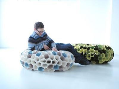 Sofás diseño coral