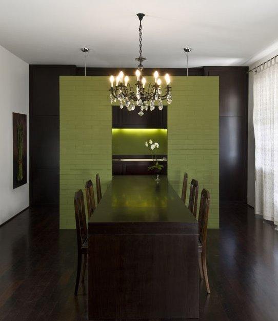 Arquitectura de casas mueble comedor integrado a la cocina for Diseno cocina comedor